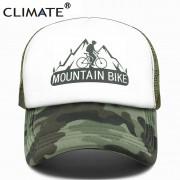 Boné Bicicleta Climate Mountain Bike Camuflado Com Regulagem