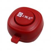 Buzina Eletrônica para Bicicleta Touch-Screen LD69 110dB USB Recarregável Vermelha