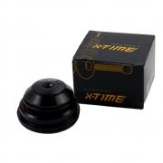 Caixa de Direção X-Time Tapered Semi-Integrada Cônica 55mm e 44mm Com Rolamentos Para First Athymus TSW Audax