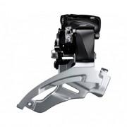Cambio Dianteiro Shimano Altus M2000 34.9mm Abraçadeira Alta Dual Pull Preto
