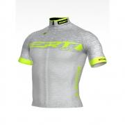 Camisa de Ciclismo ERT New Elite Racing Cor Prata - Vários Tamanhos