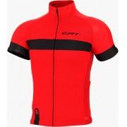 Camisa de Ciclismo Bike ERT Nova Tour Strip Red cor Vermelha - Vários Tamanhos