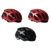 Capacete Bicicleta First Speck Tamanho M ou G Speed ou MTB com Sinalizador 6 Leds