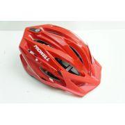 Capacete Bike Prowell F44 Breeze Cor Vermelha Tamanho G Com Viseira