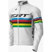 Casaco Inverno Ciclismo Ert Campeão Mundial Branco Mtb Speed