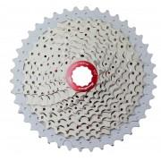 Cassete Bicicleta Sunrace MX3 11-42 dentes 10 Velocidades Vermelho Padrão Shimano