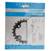 Coroa MTB Shimano Deore SLX M675 24 dentes Bcd 64mm 10 Velocidades