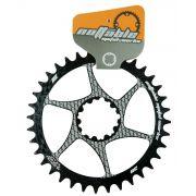 Coroa Unica Bicicleta Nottable Sram 32 34 36 38 dentes Direct Mount 3mm Off Set Para Uso 1x11 1x12
