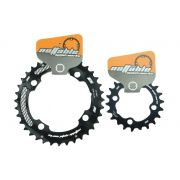 Coroas Mtb Nottable 36 E 22t 2x10 Bcd 104mm Serve Em Sram Shimano