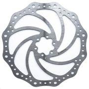 Disco De Freio Rotor Absolute 180mm 6 Furos em Aço para Bicicletas