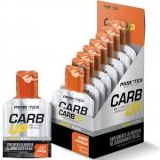 Gel Energético Probiotica Carb Up Laranja com 10 unidades para Ciclistas Corredores Aventura