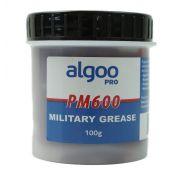 Graxa PM600 Military Grease Algoo Pro 100 gramas para Suspensão E Rolamentos Bicicletas Vermelha