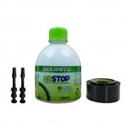 Kit Tubeless ArStop Com Fita - Liquido 300ml e Bicos Pneus 26 27.5 29