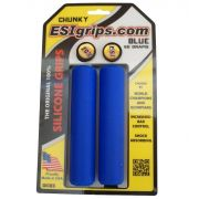 Manoplas Mtb Esi Grips Chunky 32mm Azul escuro 60 Gramas