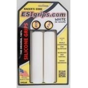 Manoplas MTB ESI Grips Racers Edge 30mm Branca 50 gramas