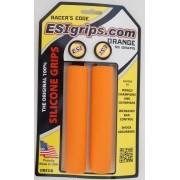 Manoplas MTB ESI Grips Racers Edge 30mm Laranja 50 gramas