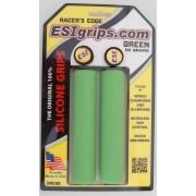 Manoplas MTB ESI Grips Racers Edge 30mm Verde 50 gramas