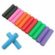 Manoplas para MTB em Silicone Colorida 35 Gramas Várias Cores igual ESI Grips