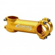 Mesa Avanço Bicicleta Mtb Vortex 100mm 31.8mm 8º De Inclinação Cor Dourada