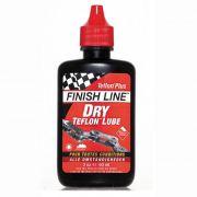 Óleo Lubrificante Finish Line Seco Teflon Plus Dry 60ml Vermelho para Correntes Bicicleta