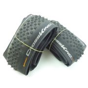 Par de Pneus MTB Continental Cross King Pure Grip 27,5 2.2 Tubeless Kevlar Preto