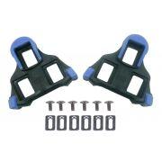 Par de Taquinhos Shimano Sh12 Azul para Pedal Clip Para Sapatilhas Speed