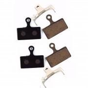 Par Pastilhas Freio à Disco Vicinitech para Shimano SLX XT XTR M675 M785 M8000 M987