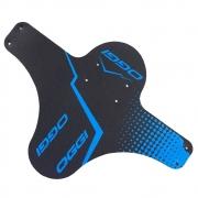 Paralama Bicicleta Dianteiro Oggi MTB Enduro DH em Plástico Preto e Azul