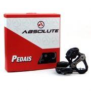 Pedal Clip Speed Absolute Prime Carbon ZP-110 Encaixe Clip Road com Taquinhos