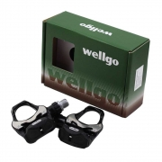 Pedal de Encaixe Clip Bicicleta Speed Wellgo R251 Road com Taquinhos