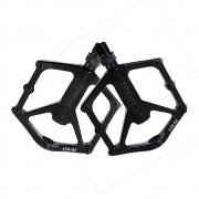Pedal Plataforma para Bicicletas Promend PD-M29 em Alumínio Cor Preto  Rosca Grossa 9/16