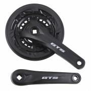 Pedivela Bicicleta Mountain-Bike GTS Element 42-34-24 dentes 170mm Eixo Quadrado para 6-7-8 velocidades