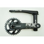 Pedivela Sram MTb NX Eagle 1x12 DUB Coroa 32T 175mm Direct Mount