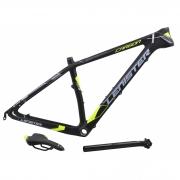 Quadro 29 Bicicleta MTB Lenister Carbono Tam 17 + Kit Selim e Canote