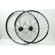 Rodas Bicicleta Vicinitech Vivatec Disc Aro 29 Alumino Cor Preta