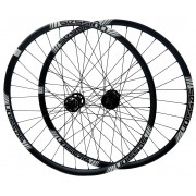 Rodas MTB Session A25 Aro 29 Eixos 15x110 e 148x12mm Boost Freehub Shimano Micro Spline 12v