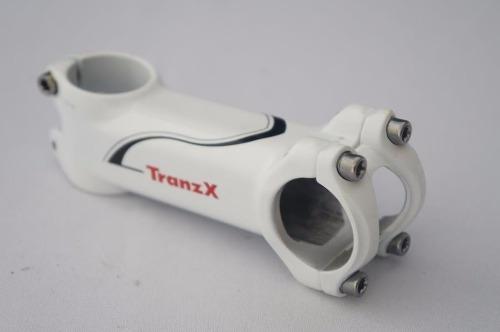 Mesa Bicicleta Mtb Tranzx 90mm 31.8mm 8º graus de Inclinação Cor Branca