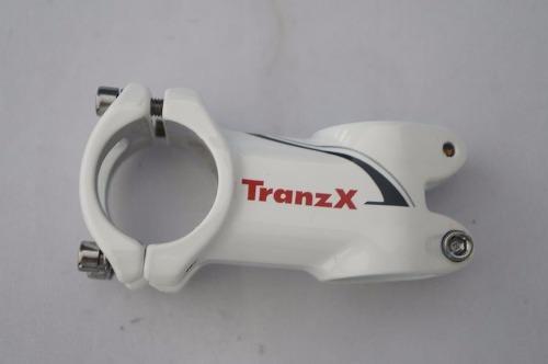 Mesa Bicicleta Mtb Tranzx 60mm 31.8mm Branca 8º Inclinação