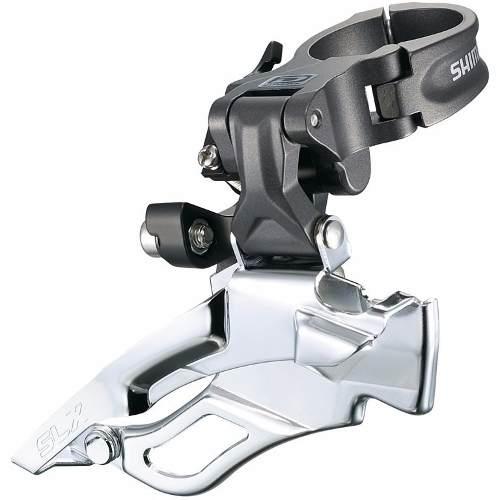 Cambio Dianteiro Shimano Deore Slx M661 3x10 34.9mm 10 velocidades Dual Pull
