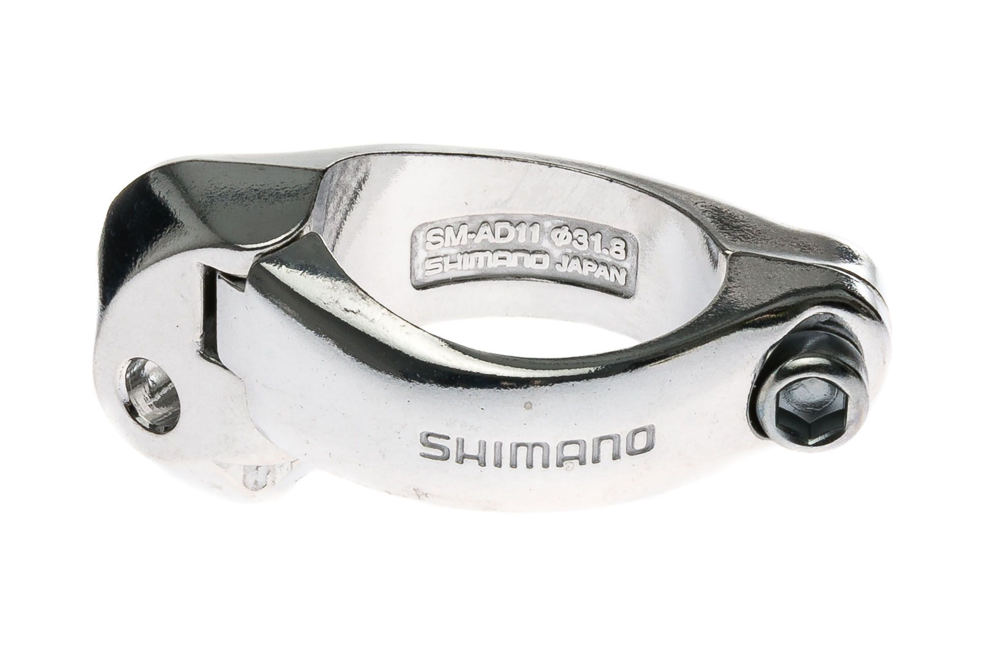 Abraçadeira para Câmbio Dianteiro Braze-On Shimano 31.8mm Speed Road