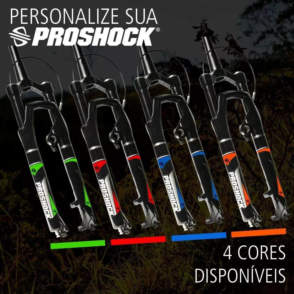 Adesivos Para Personalização de Suspensão Proshox Onix 27.5 e 29 Diversas Cores