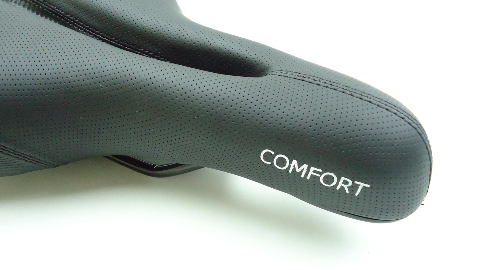 Banco Selim Bicicleta MTB Vortex Confort Vazado 180mm Largura Super Confortável