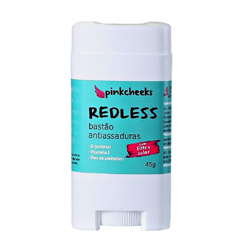 Bastão Protetor Antiassaduras Redless Pinkcheeks Para Ciclismo Anti Atrito 45g