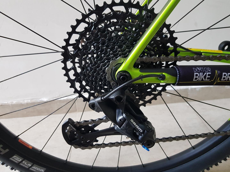Bicicleta Cannondale F-Si Carbon 5 GX Eagle 12 velocidades 2019 Tamanho Large