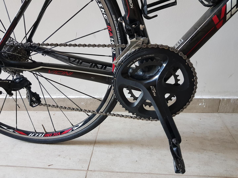 Bicicleta Speed 700 Vicinitech Corsa R1 Carbono Tamanho 47 Com Grupo Shimano 105 11 velocidades  - USADO