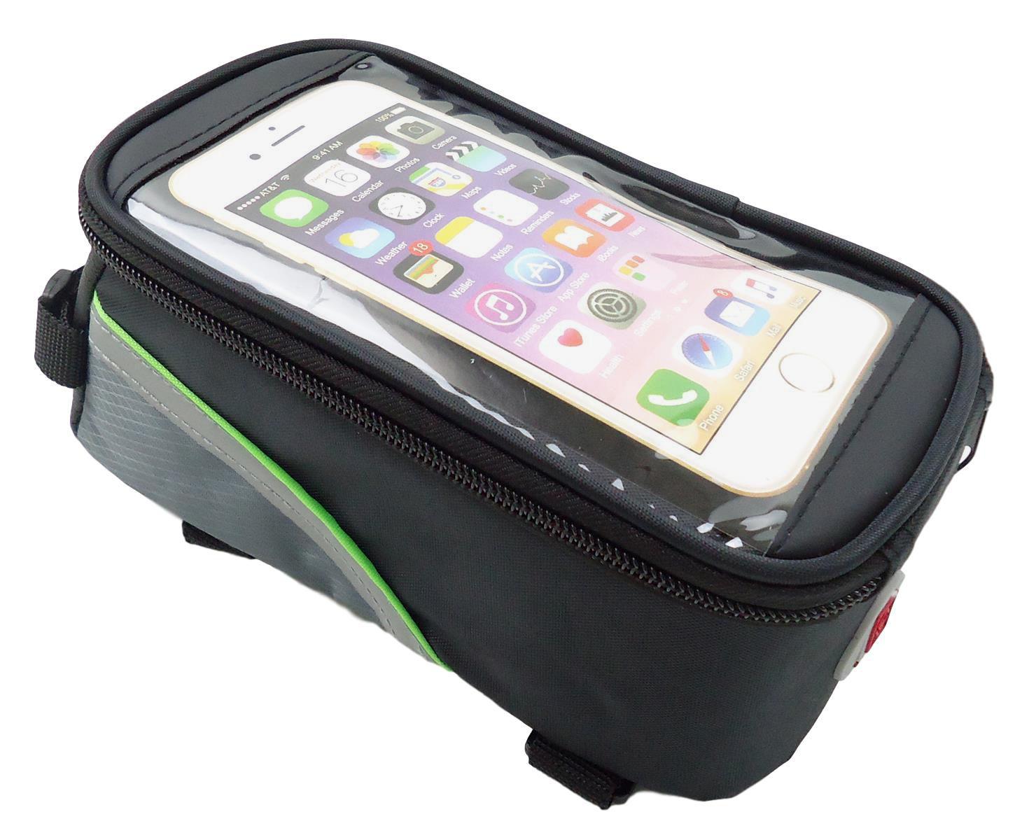 Bolsa Porta Celular Para Quadros Bicicletas Tamanho G Serve até 6.3 polegadas