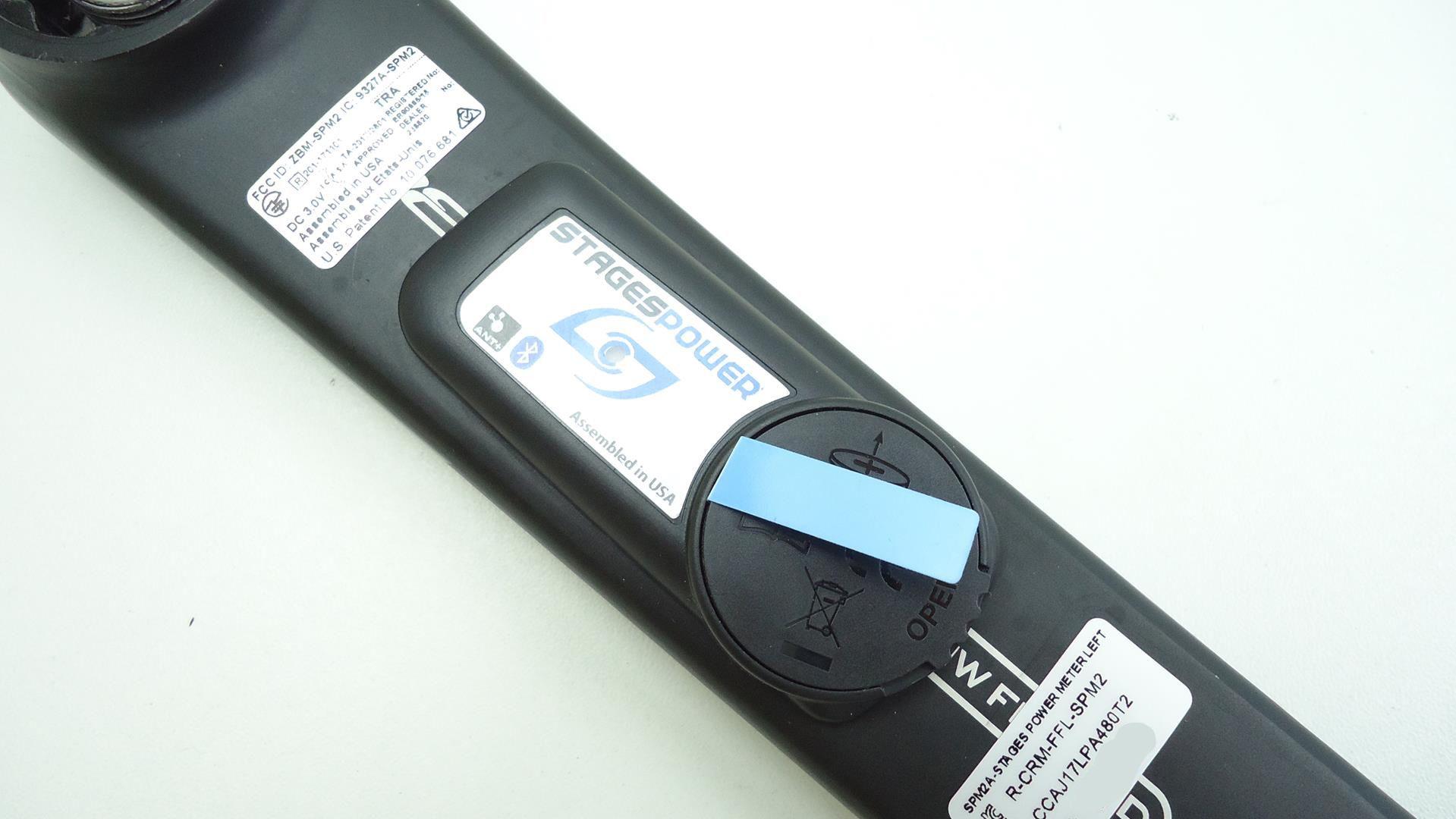 Braço Esquerdo Medidor de Potência Stages FSA Energy 172.5mm BB30/BB386 Powermeter