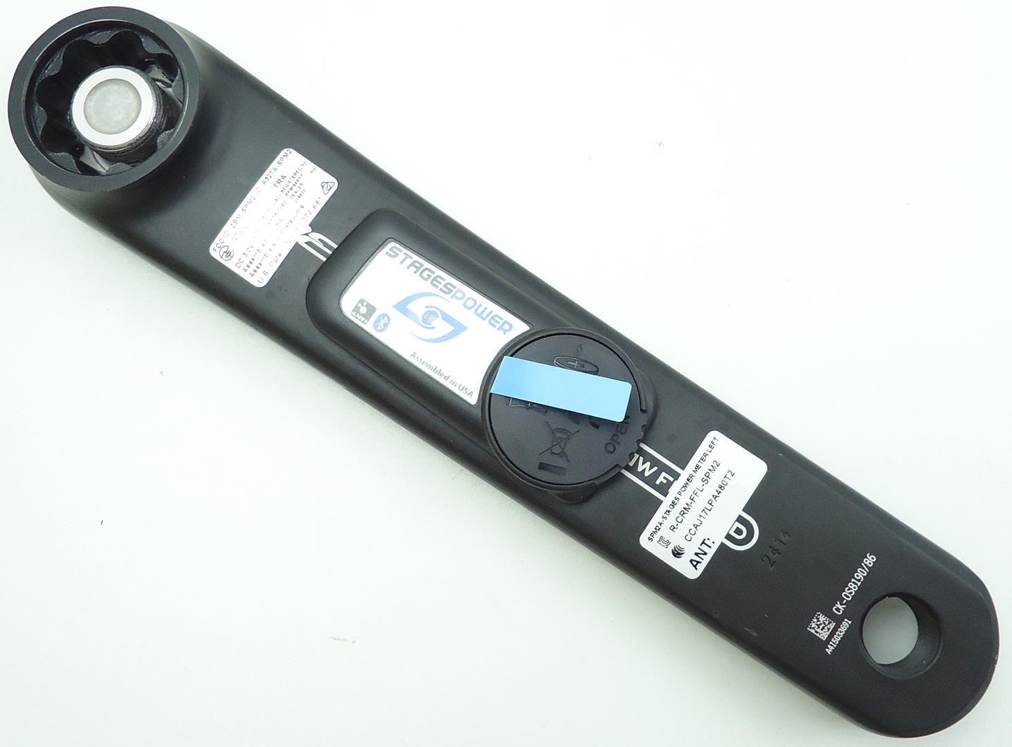 Braço Esquerdo Medidor de Potência Stages FSA Energy 175mm BB30/BB386 Powermeter