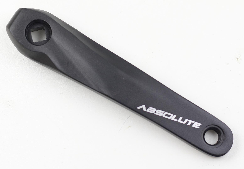 Braços Pedivela MTB Absolute Para Coroa Unica ou Dupla Ponta Quadrada BCD 104mm