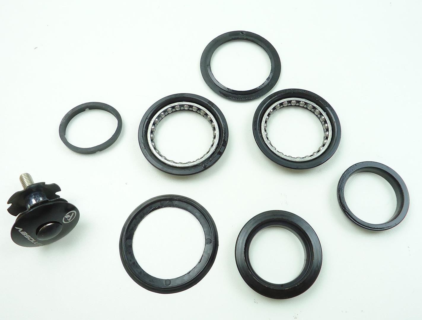 Caixa de Direção Absolute Megaover com Esferas Semi Integrada 44mm Para Quadros e Suspensões Espiga Reta